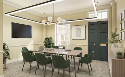 Boutique Workplace Theobalds Road – meeting room copy